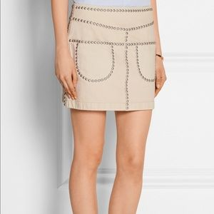 Coach Studded Skirt